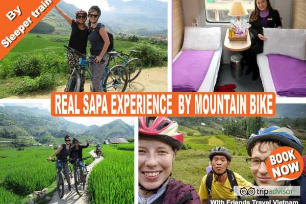 Friends Travel Vietnam Real Sapa Experience 2D-1N by Mountain Bike with Sleeper Train