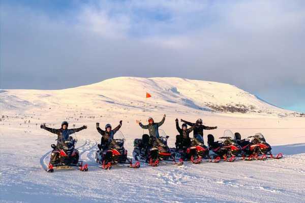 Puls Camp Åre Snöskotertur