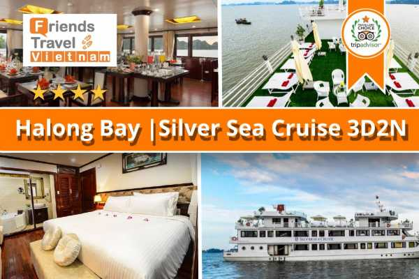Friends Travel Vietnam Silver Sea Cruise | Halong Bay 3D2N