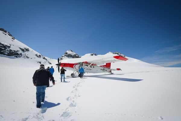 Skydive Switzerland GmbH Glacier Landing: Interlaken