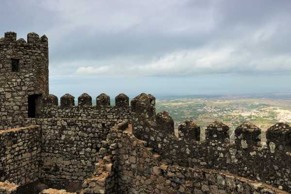 Lisbon on Wheels 7- Private Sintra Tour from Lisbon with Wine Tasting and Moorish Castle