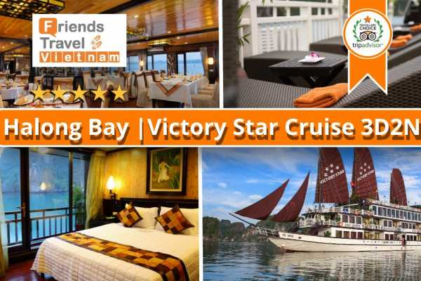 Friends Travel Vietnam Victory Star Cruise | Bai Tu Long Bay 3D2N