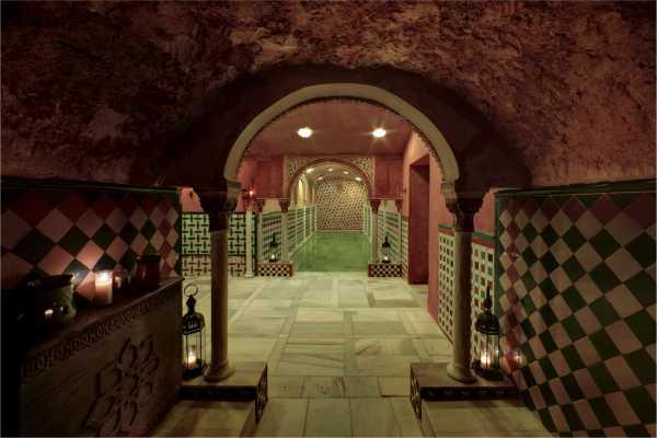 NHUE Hammam. Baños árabes de Granada
