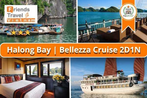 Friends Travel Vietnam Bellezza Cruise | 2D1N Halong Bay