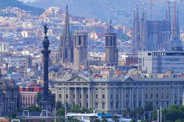 NHUE Panorámica de Barcelona