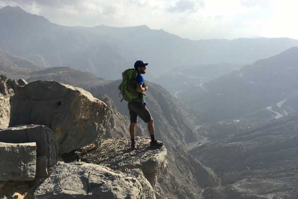 Adventurati Outdoors Scaling Jabal Jais - South Side