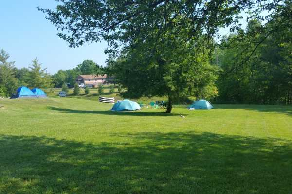 West Virginia Adventures Tent Camping