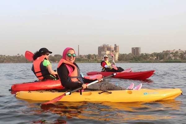 EMO TOURS EGYPT Cairo Kayak on the Nile river