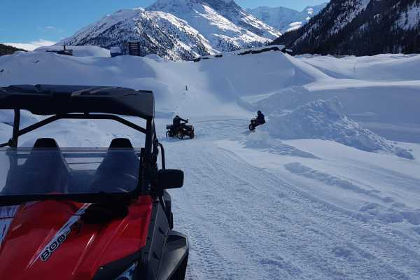 BuggyPark by HB-Adventure Switzerland Guided Tour with 4x4 ATV/Quads
