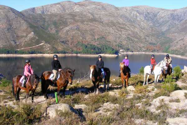 Gerês Holidays 1 day Horse Riding - Waterfall's Trail