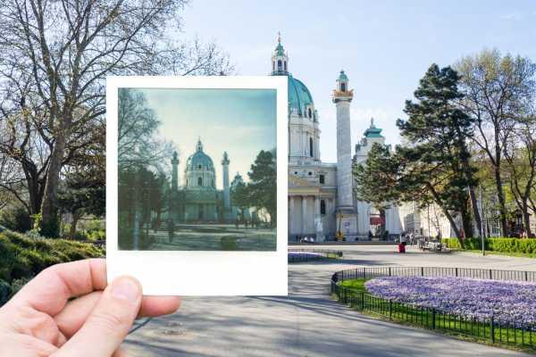 Polaroid Photo Tour Vienna - Classic