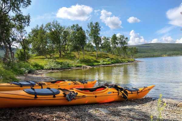 Puls Camp Åre Kajak paddling 3 tim Åresjön med guide