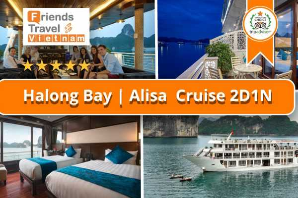 Friends Travel Vietnam Alisa Cruise | 2D1N Halong Bay