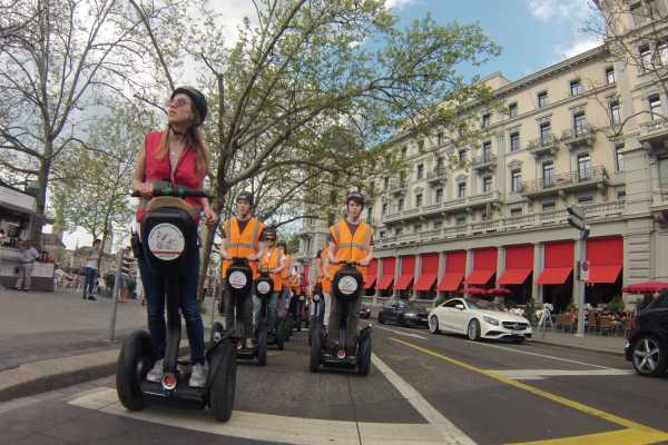 Romantic Weekend in Zurich including Segway Tour for 2 persons