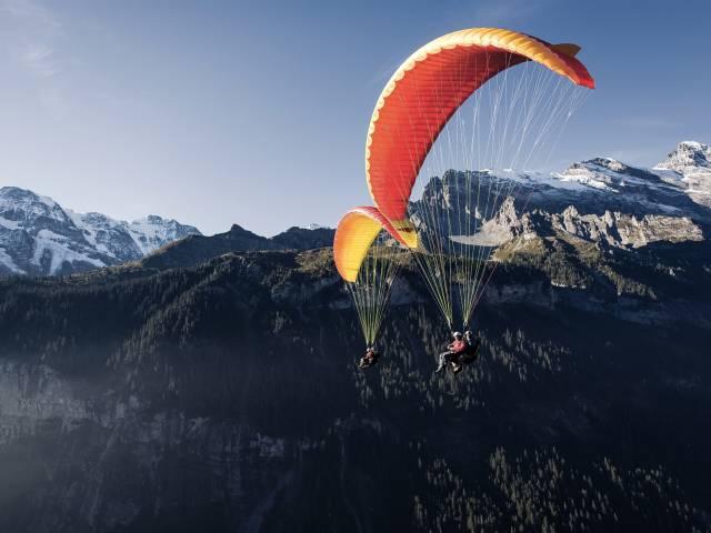 Outdoor Interlaken AG River Rafting und Paragliding
