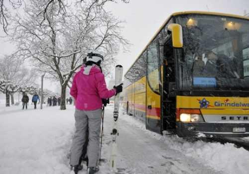 interlaken ski bus