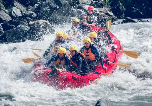 Teamevent River Rafting