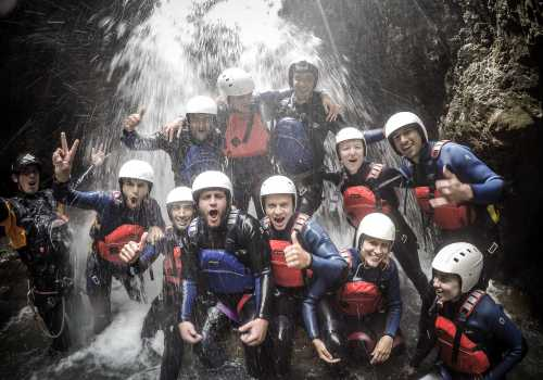 Teamevent Canyoning