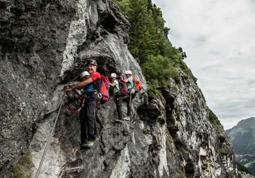 Teamevent Via Ferrata