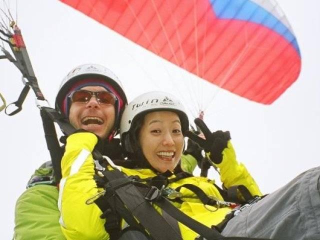 Star Paragliding, Switzerland Kim Hee Sun
