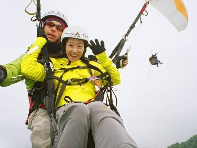 Star Paragliding, Switzerland Kim Hee Sun