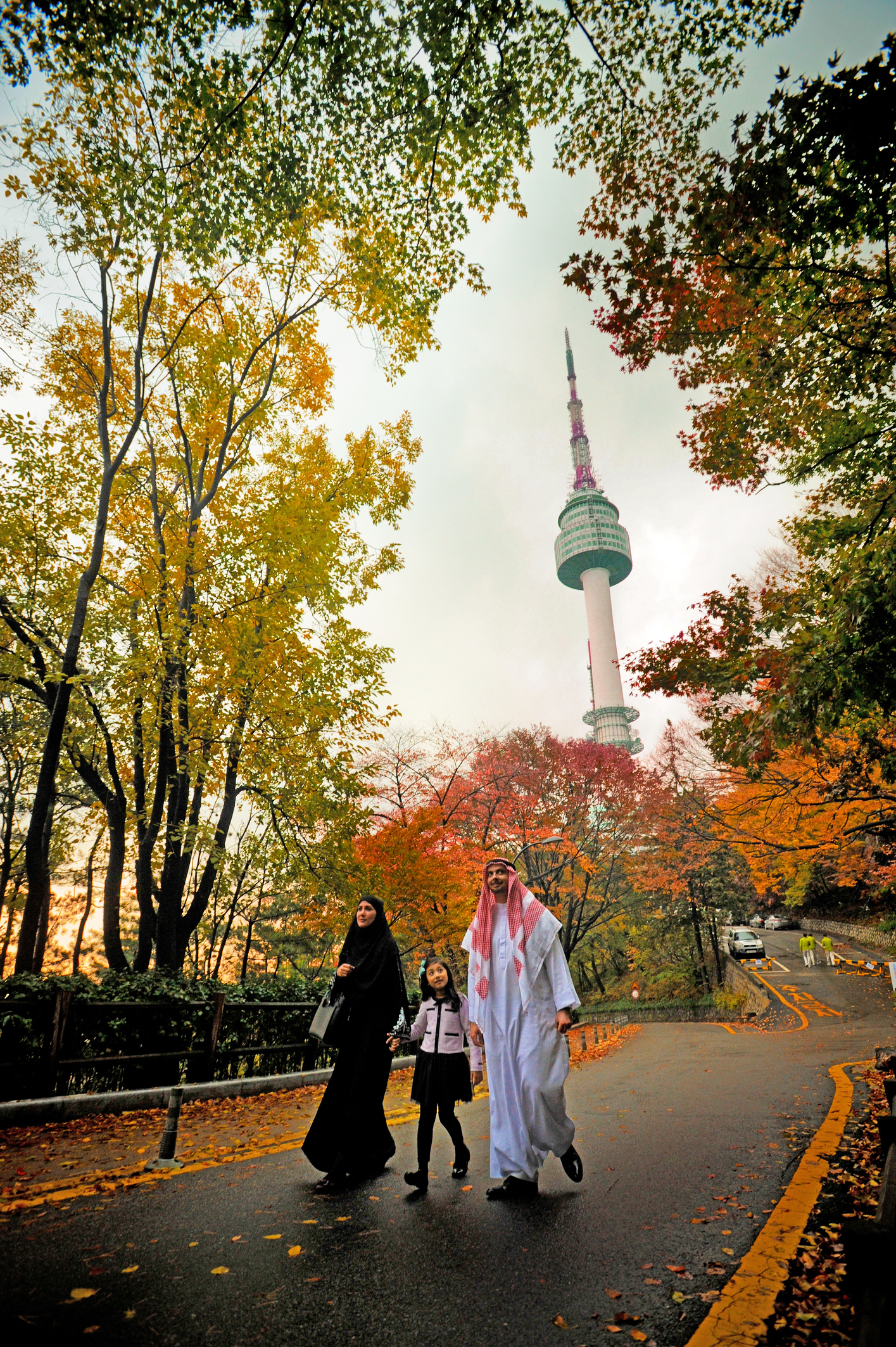 N Seoul Tower for photo stop