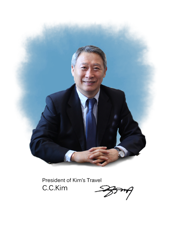 President of Kim's Travel - C.C.Kim