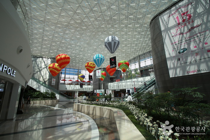 COEX Mall - largest underground shopping mall in Asia