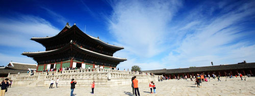 Gyeongbok Palace - The largest palace in Seoul