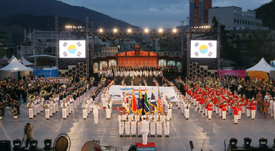 Jinhae Military band & Honor guard festival