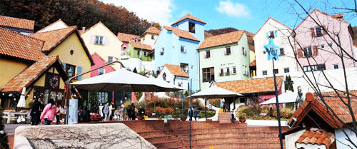 Petite France Theme park in Gapyeong County, South Korea
