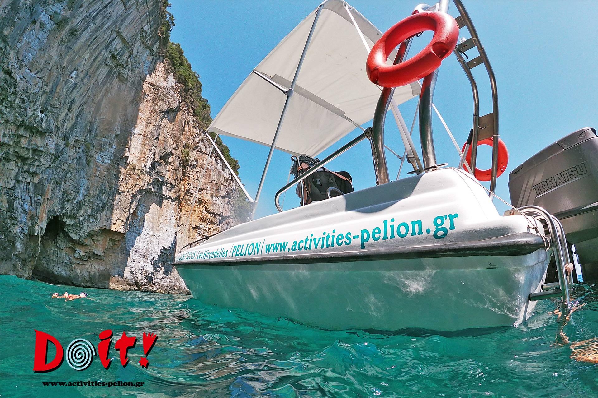Boat Tour    Poseidon Caves