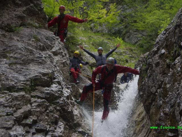 Raftingvilág Kft Canyoning pictures