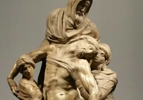 Michelangelo's Deposition Bandini Pietà