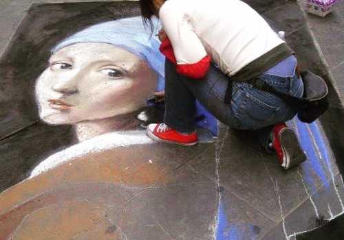 Madonnari Madonna street art