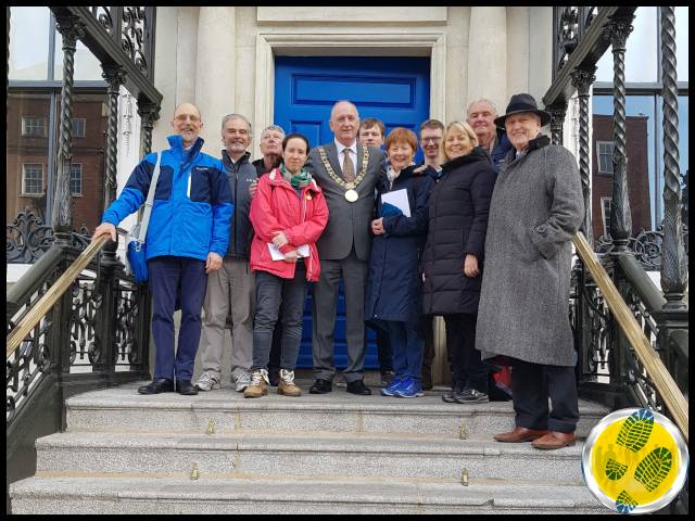 Pat Liddy's Walking Tours of Dublin Guide Training Course September 2020