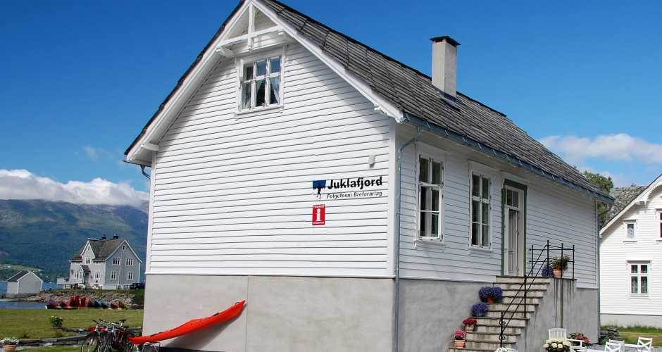 Juklafjord, our booking and activety center