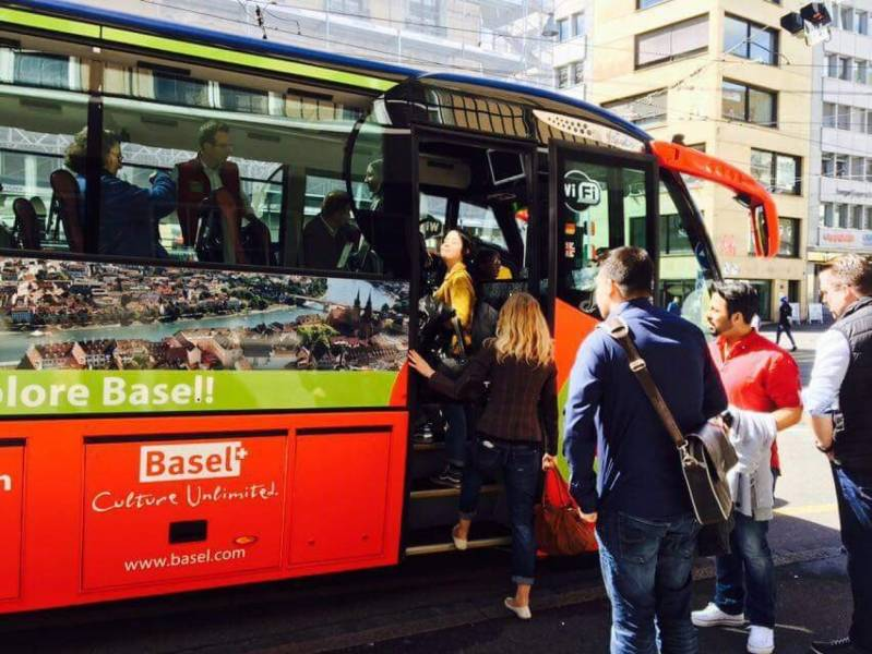 BaselCitytour.ch Sightseeing Bus Basel