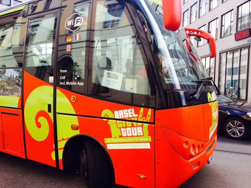BaselCitytour.ch Sightseeing Bus Basel