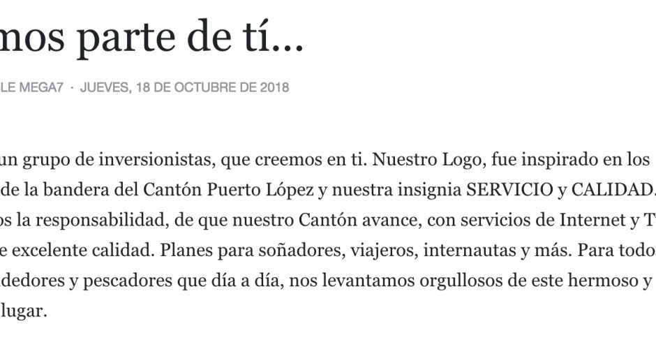 PUERTO LOPEZ | ECUADOR