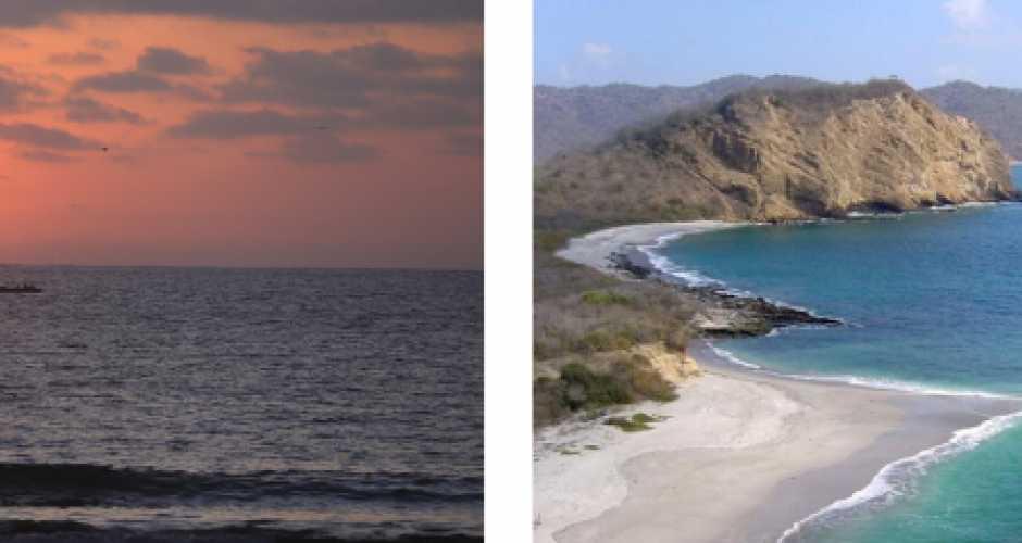 PLAYA | LOS FRAILES | PAISAJES | PUERTO LOPEZ