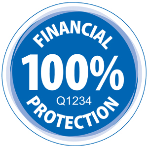 100% financial protection