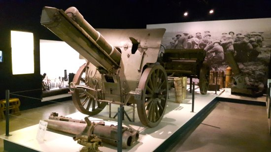 The Passchendaele Museum has a very good artillery collection