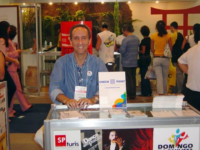 Check Point Salão do Turismo - 27 de maio à 6 de junho de 2005