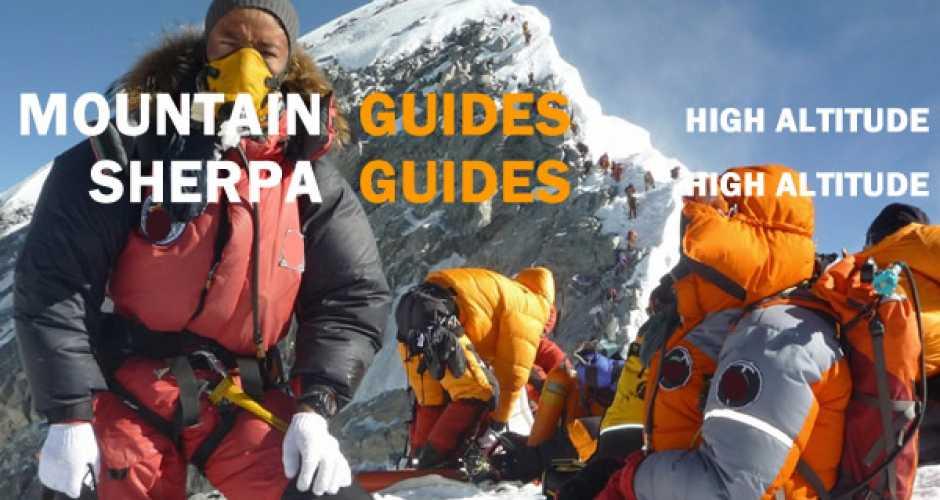 Hire a Mountain / Sherpa Guide