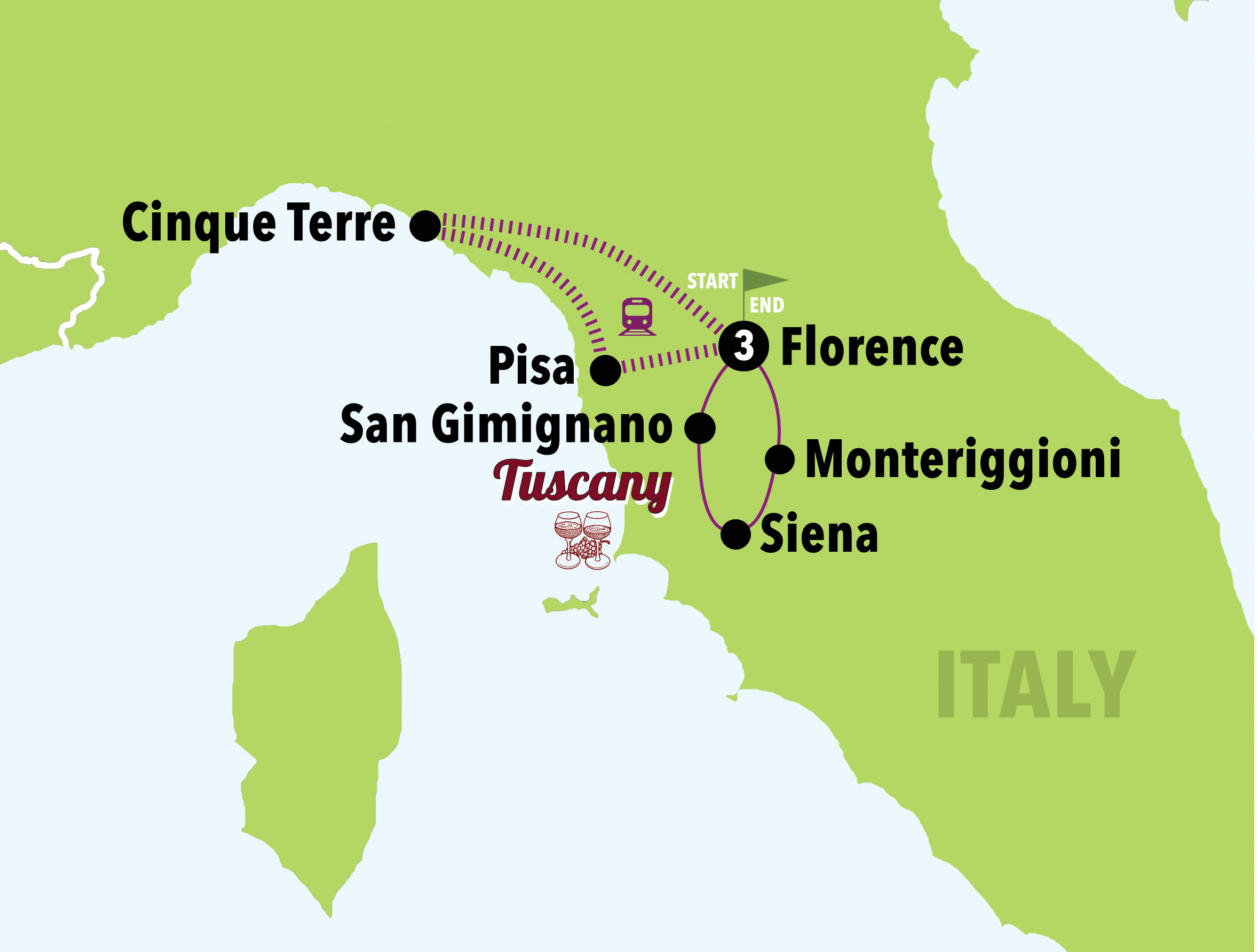 THE BEST OF TUSCANY - 4D/3N ( April - Oct ) - Italy on a Budget ...