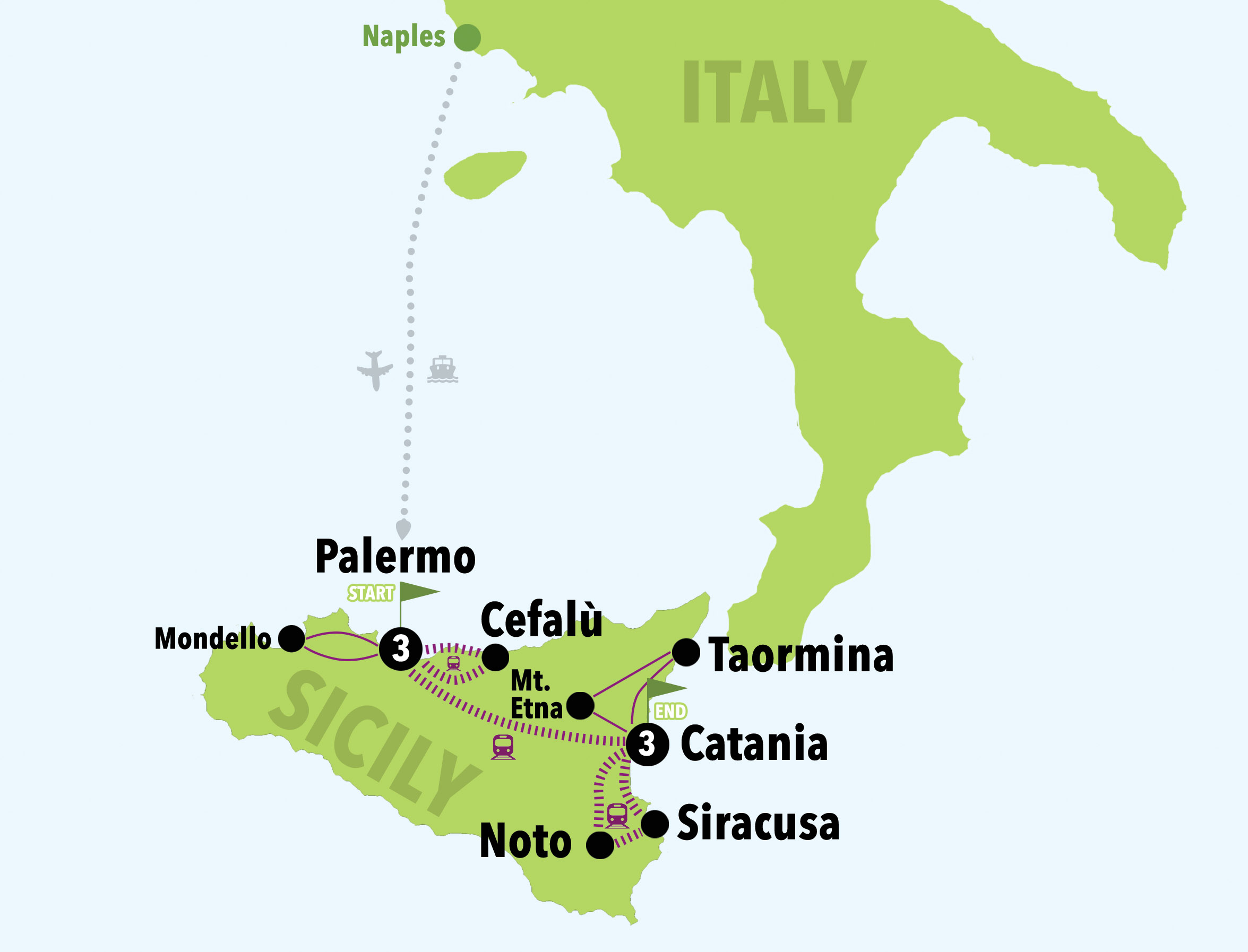 DISCOVERING SICILY ON A BUDGET - 7DAYS/6NIGHTS - Italy on a ...