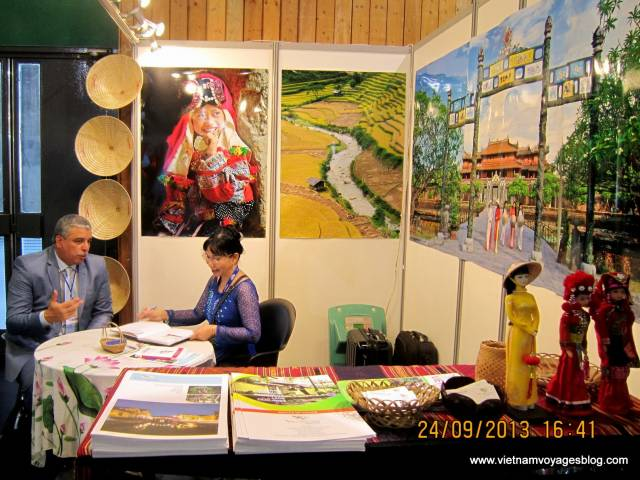 Viet Ventures Co., Ltd Viet Ventures à l'exposition internationale de voyage