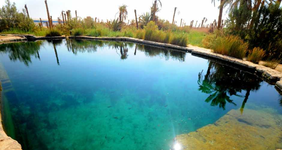 Bir Wahed Cold Springs and Hot Springs