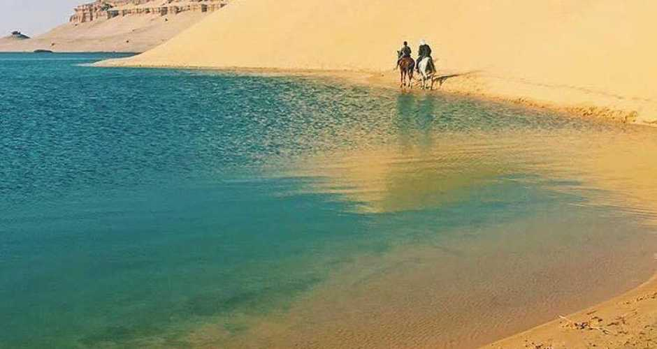 6- THE MAGIC LAKE AND GEBEL AL-MUDAWARA